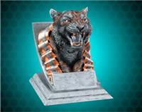 Tiger Mascot Sport Bank Resin