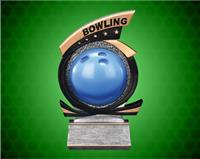 Bowling Gold Star Resin