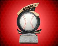 Baseball Gold Star Resin