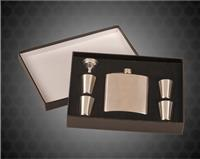 6 oz. Stainless Steel Flask with Presentation Box