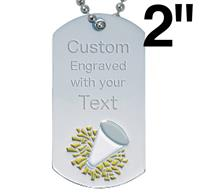 Cheerleading Dog Tags